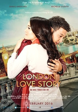 Poster Film London Love Story