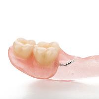 Dentadura dois dentes