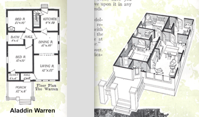 Aladdin Warren model floor plan