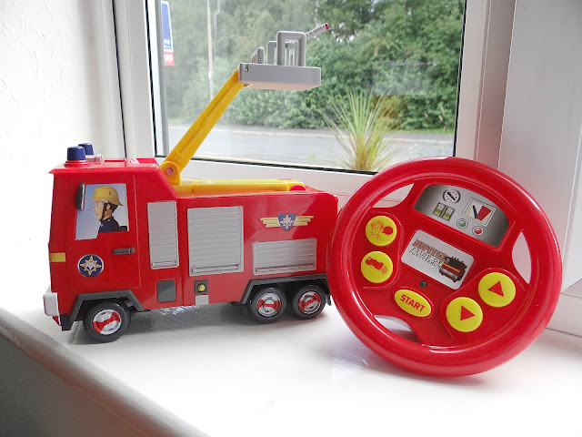 Fireman Sam, Drive & Steer Jupiter, Remote Control toy