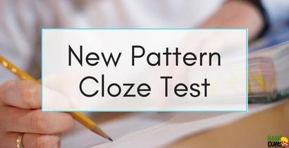 New Pattern Cloze Test Part - 8