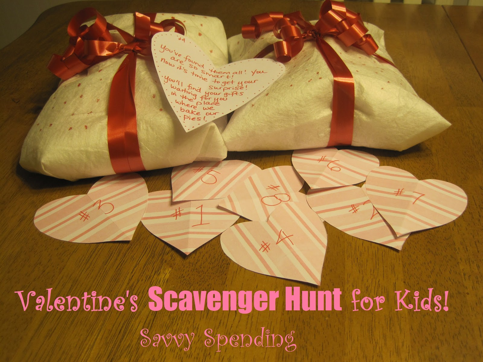 Savvy Spending My Most Pinned Post Valentine S Scavenger Hunt For Kids 9 Free Pre Written