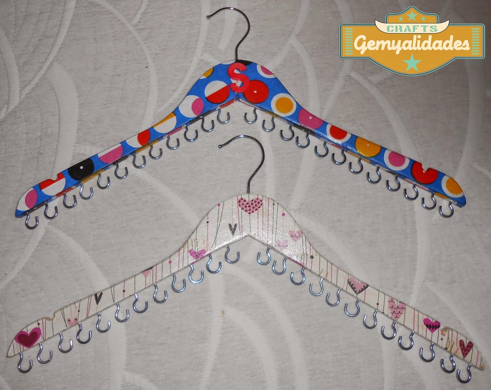 Gemyalidades mi primer video tutorial diy organizador de - Para colgar collares ...