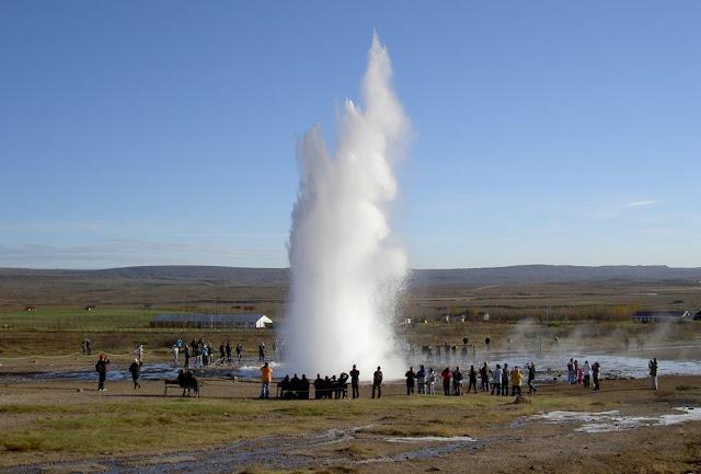 Gêiser Strekkur – Islândia