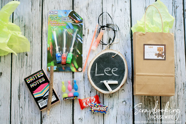 BEAVER-THEMED 8th BIRTHDAY PARTY FAVOR GOODIE BAG IDEAS