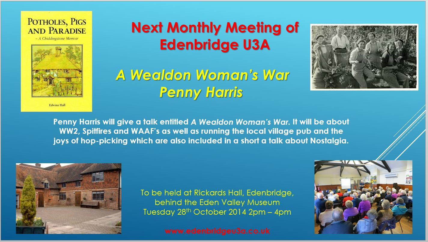 A Wealdon Woman's War