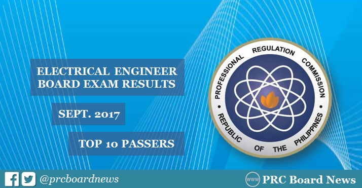 top 10 electrical engineer REE board exam results