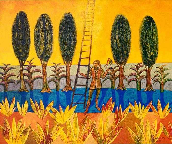Цвета, контуры, формы и воображение. Katarzyna Kopanska