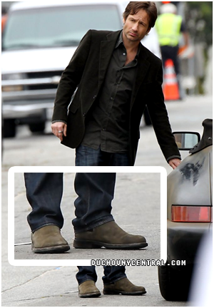 Duchovny Central Hank Moody Shoes On Californication