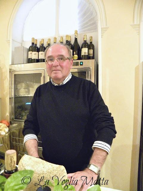 """Paolo Span patron de """"Il Gusto di casanova"""" Bistrot del Castello di Spessa"""