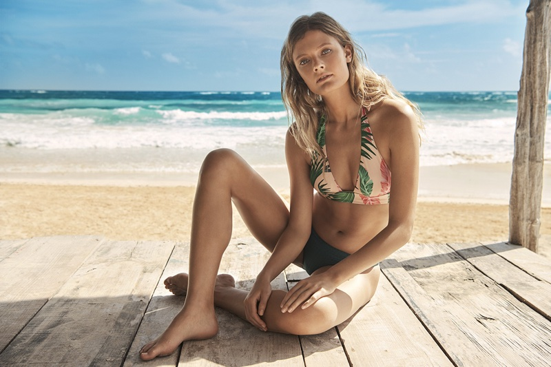 CONSTANCE JABLONSKI FOR ETAM SWIM 2018