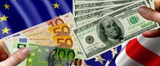 سعر اليورو مقابل الدولار والعملات اليوم الأحد 1-7-2018 على المستوى الدولي