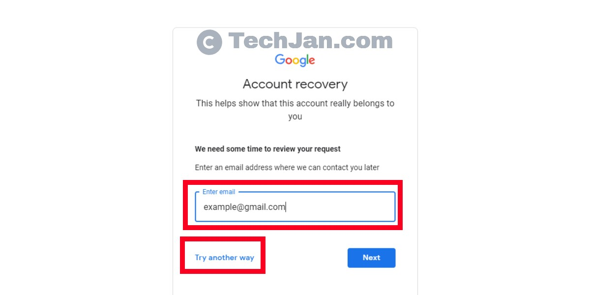 How to Gmail Account Password Recovery (Step By Step