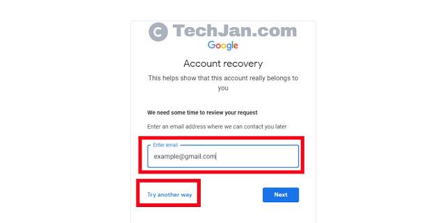 Password Forgot Recovery