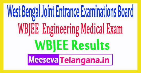 West Bengal Joint Entrance Exam WBJEE Results 2017