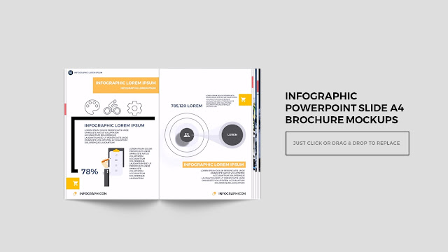 Infographic Multi Page Brochure Powerpoint Mockup Slide2