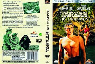Carátula dvd: Tarzán de los monos de 1932