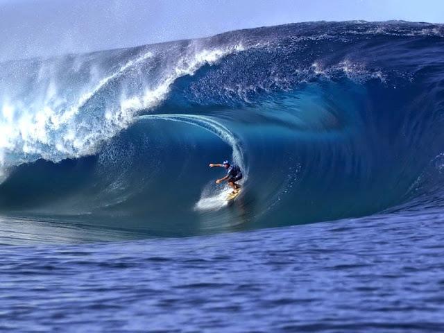 international surfers, Nias Island