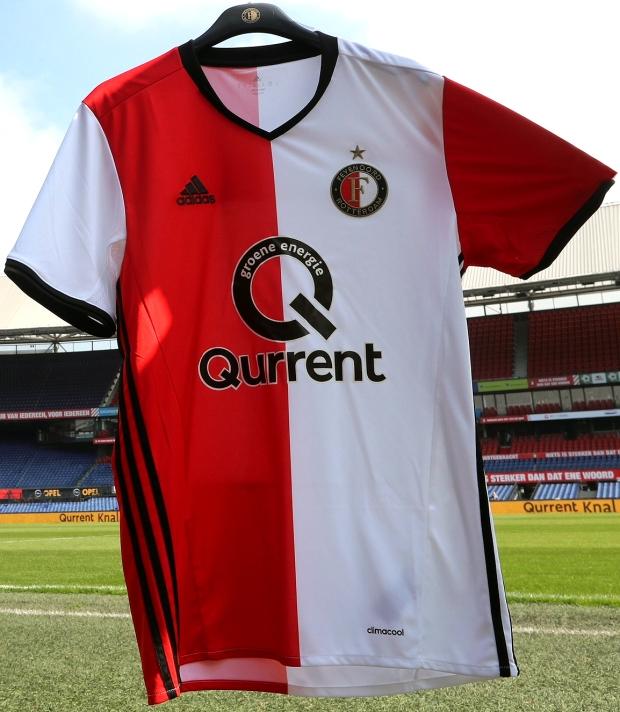 3d5444f8f5 Feyenoord acerta com novo patrocinador máster em sua camisa - Show ...