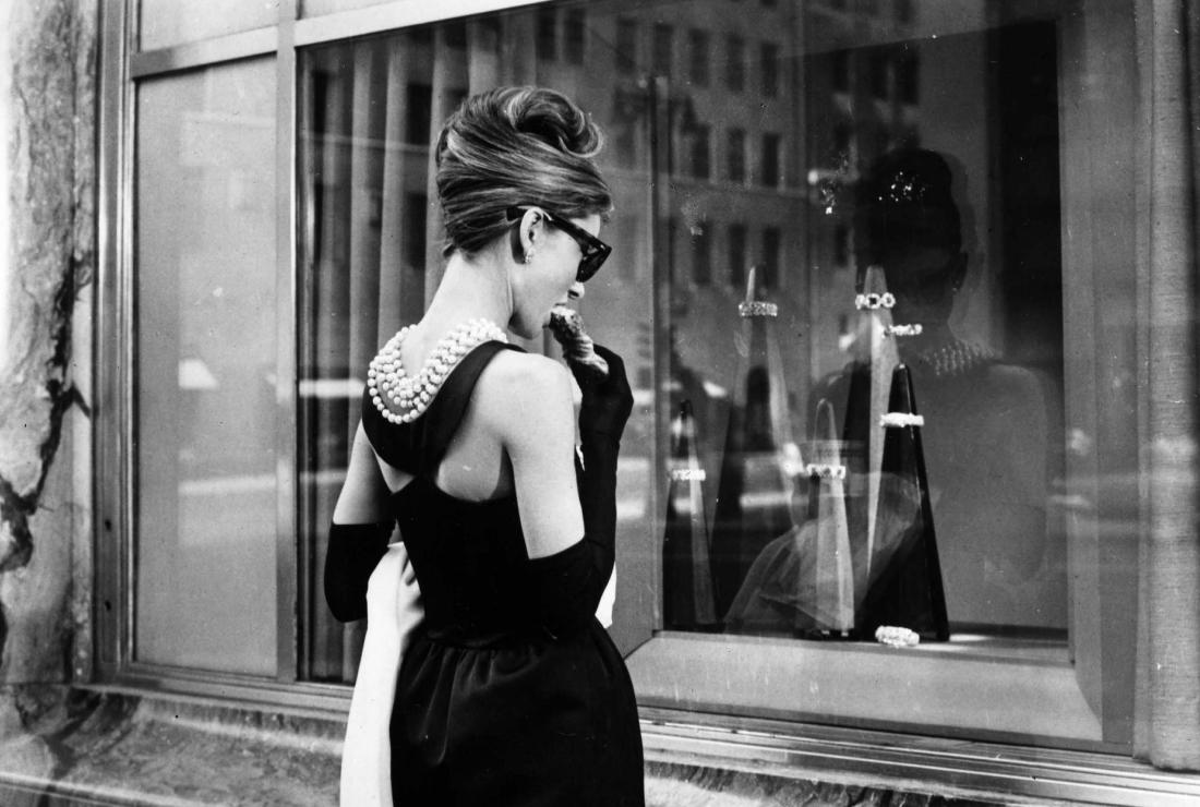 tubino nero Audrey Hepburn