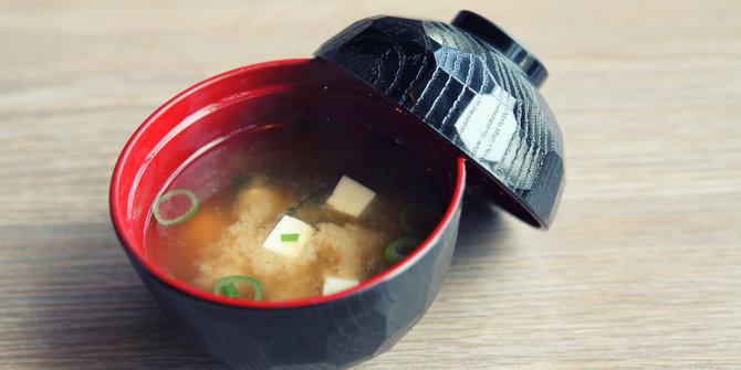 resep membuat soup miso