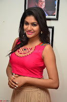 Akshita super cute Pink Choli at south indian thalis and filmy breakfast in Filmy Junction inaguration by Gopichand ~  Exclusive 010.JPG