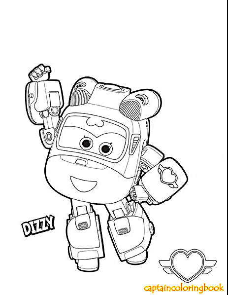 Super Wings coloring pages free