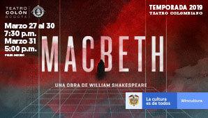 MACBETH regresa al Teatro Colon en 2019