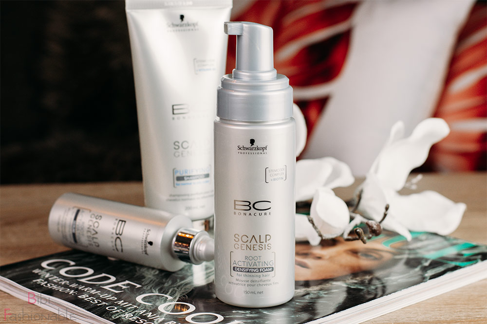 Schwarzkopf Professional BC Bonacure Scalp Genesis Root Activating Densifying Foam
