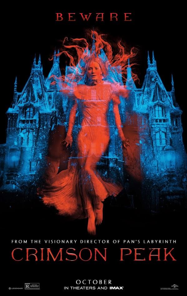 ตัวอย่างหนังใหม่ : Crimson Peak (ปราสาทสีเลือด ) ซับไทย poster