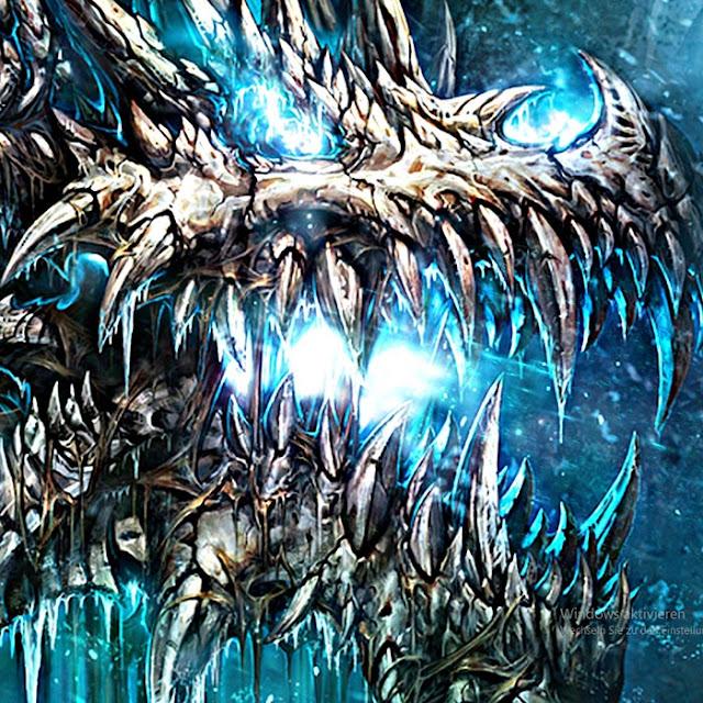 Ice Dragom Wallpaper Engine