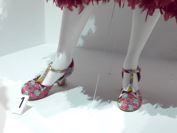 Hairspray Live Edna Turnblad costume shoes