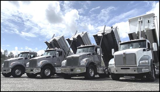 Carli Trucking Kenworth T880S Dump Trucks