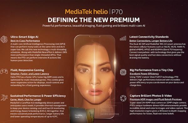 MediaTek Helio P70 - Infographic