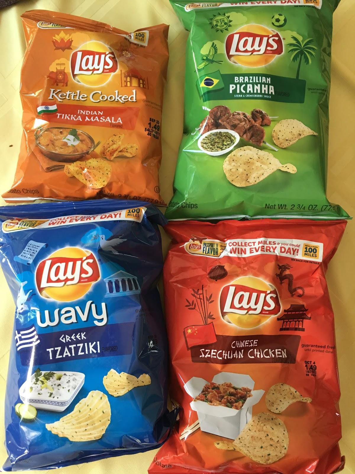 "Yak Talk: Review: Lay's Potato Chip""Passport to Flavor ..."