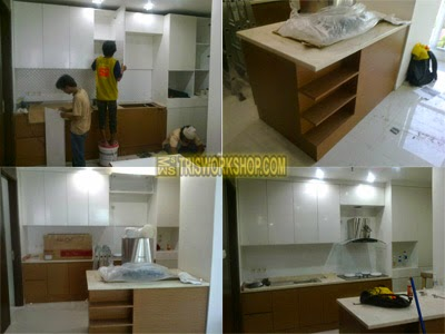 Workshop Bengkel Furniture Desain Interior Setting Ruang Dapur, Pantry,  Bar Kitchen Setain Interior Setting Ruang Dapur, Pantry,  Bar Kitchen Set