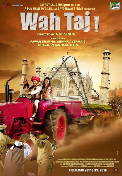 Poster of Wah Taj (2016) Full Movie Hindi 720p HDRip Free Download