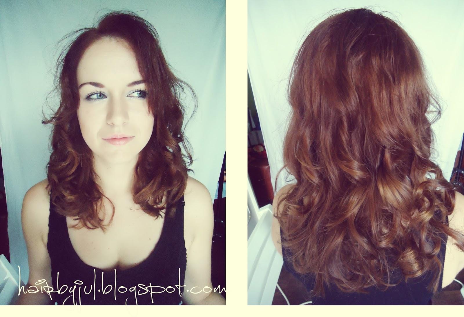 Jak Zrobić Loki Prostownicą Hair By Jul Fryzury Krok Po