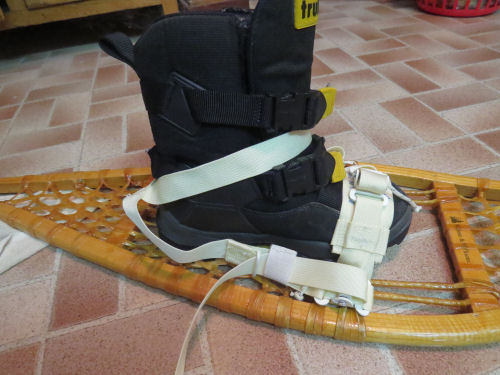 US Military Universal Snowshoe Bindings