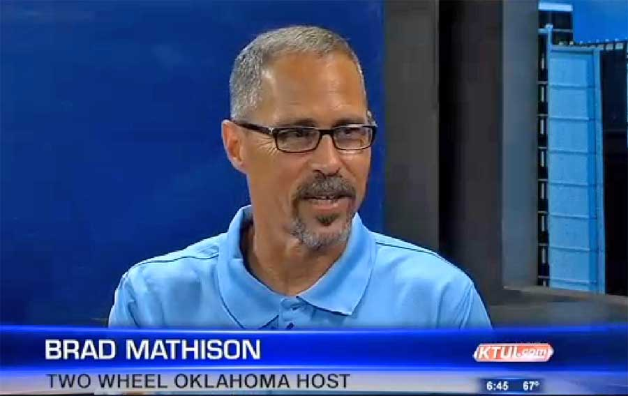 Brad Mathison appears on Good Morning Oklahoma