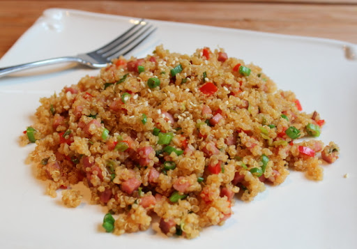 Pork-Fried Quinoa – Oh Say Can You Seed?