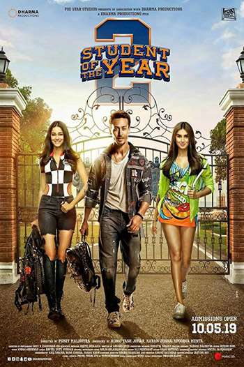 Student Of The Year 2 2019 ORG Hindi Movie WEB-DL 720p 1.3GB DD5.1Ch ESubs