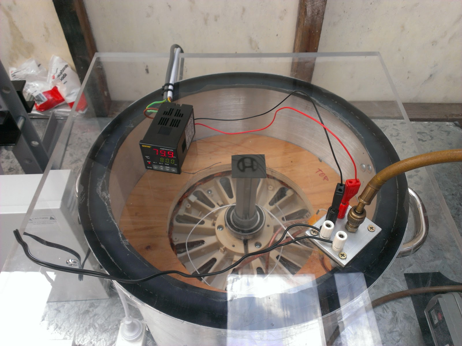 Random Technical Stuff Breezair Icon Exh 130 Problems No Pump Swamp Cooler Motor Wiring Diagram Above Improved Vacuum Chamber Initially You Couldnt See Inside And There Was Only A Port On Top For The Hose Brown Seen