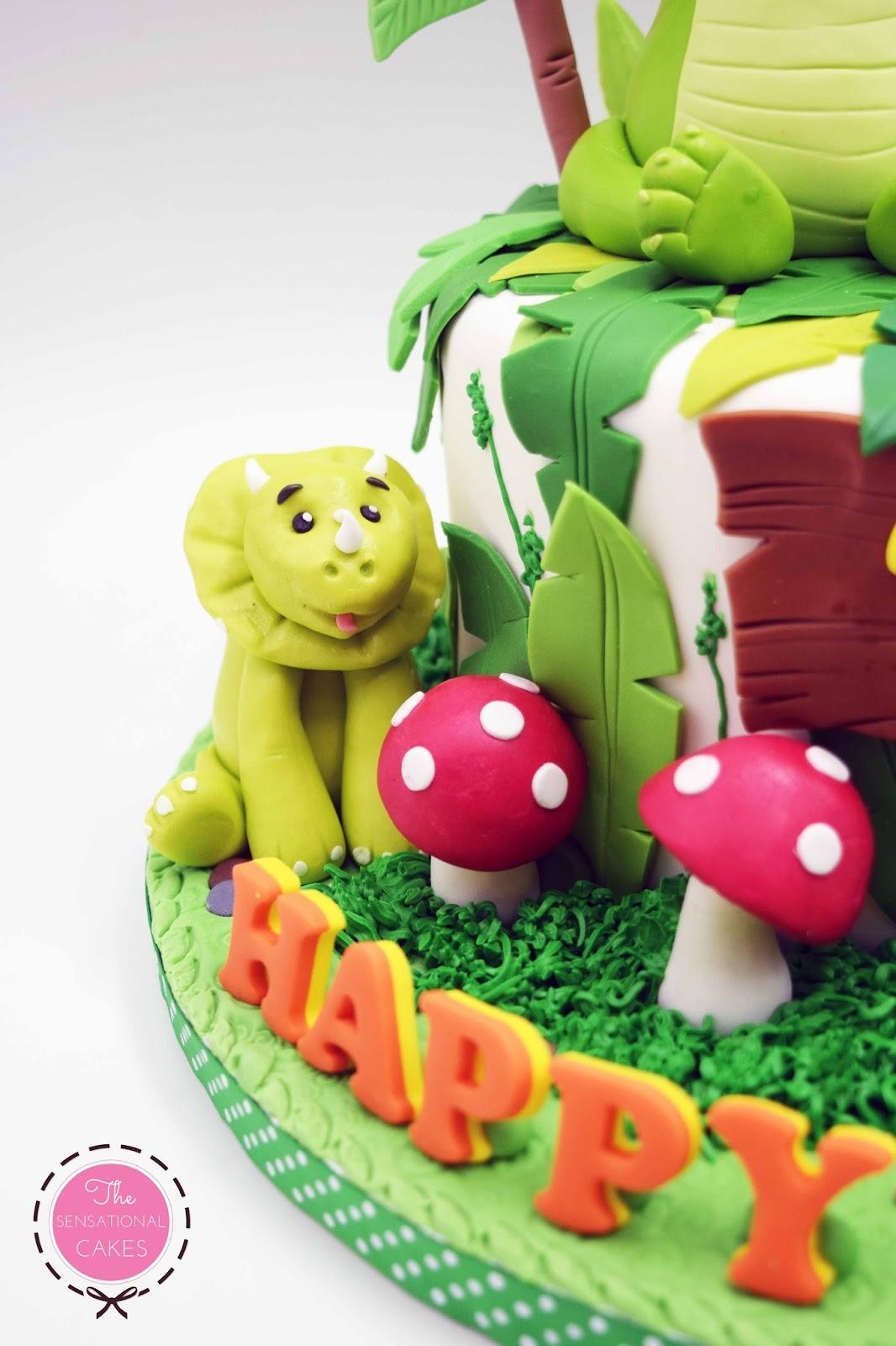 Safari Theme Birthday Cake Singapore