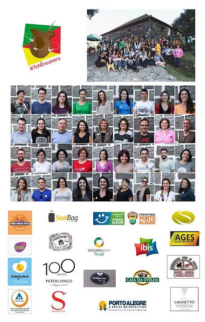 foto oficial e parceiros do Tchêncontro