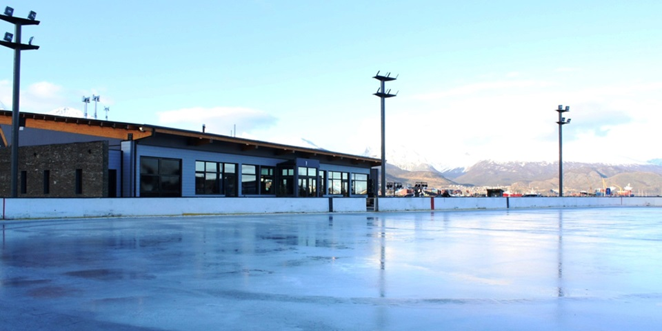 Abrio la Pista de Patinaje en Ushuaia