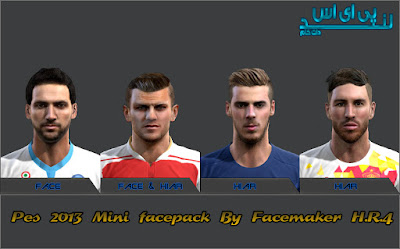 PES 2013 Mini Facepack by Face Maker H.R.4