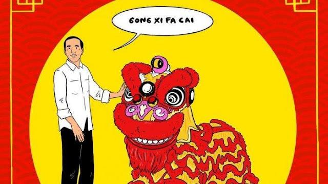 SBY Selalu Hadir, Jokowi Absen Terus pada Perayaan Imlek Nasional