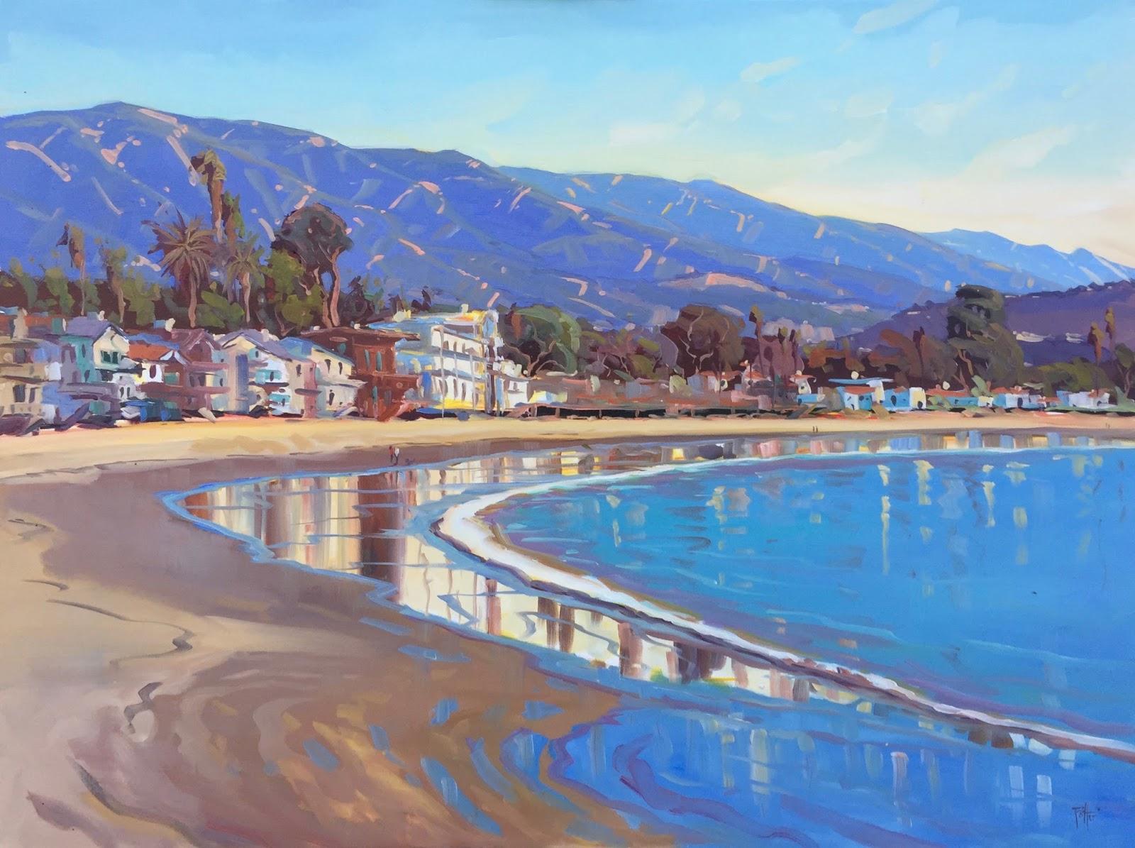 Winter Solstice At Miramar Beach Montecito California