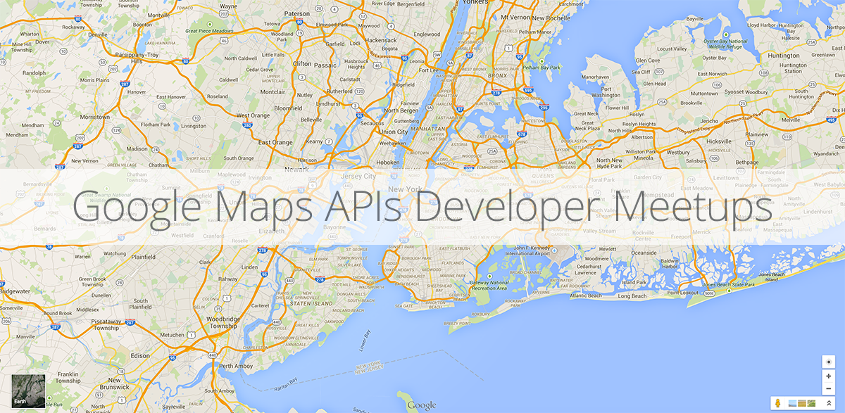 Google Map Of New York.Google Maps Platform Google Maps Developer Meetups Coming To
